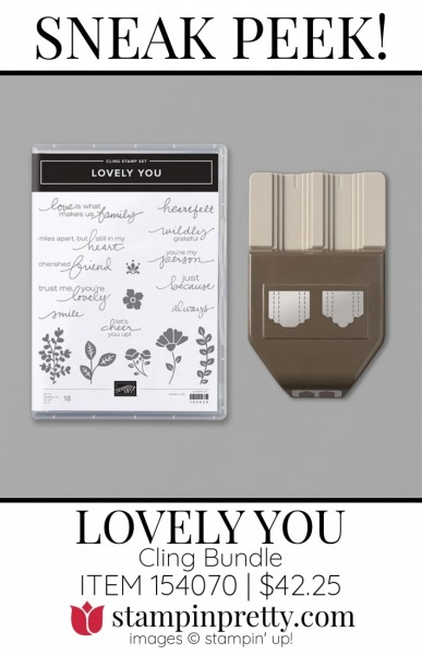 Lovely You Bundle by Stampin' UP! 154070