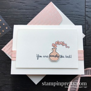 Varied Vases Stamp Set by Stampin' Up! Notecard by Mary Fish, Stampin' Pretty