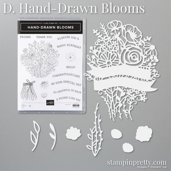 Battle of the Bundles Poll - Hand-Drawn Blooms