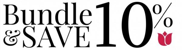 Bundle & Save 10%