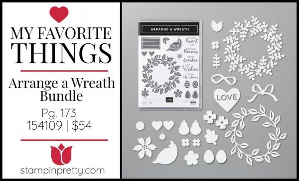 My Favorite Things - Arrange a Wreath