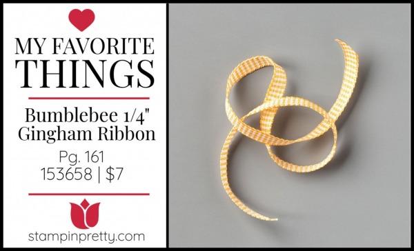 My Favorite Things - Bumblebee Ribbon