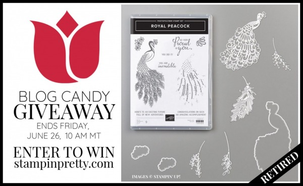 Royal Peacock Bundle Blog Candy Giveaway