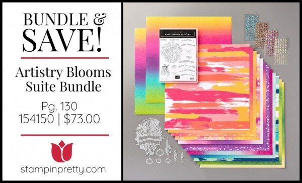 Bundle & Save Artistry Blooms Suite 154150 $73.00 from Stampin' UP!