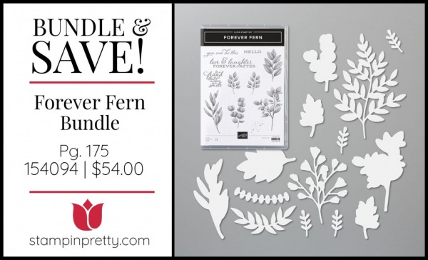 Bundle & Save Forever Fern Bundle by Stampin' Up! 154094