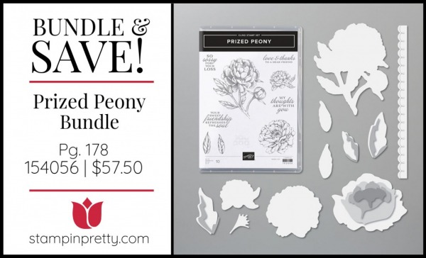 Bundle & Save Prized Peony Bundle by Stampin' Up! 154056
