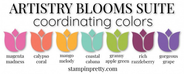 Coordinating Colors - Artistry Blooms Suite Bundle