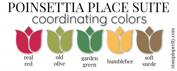 Coordinating Colors - Poinsettia Place Suite