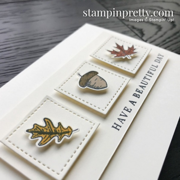 _Create this card using the Beautiful Autumn Bundle from Stampin' Up! Note card created by Mary Fish, Stampin' Pretty