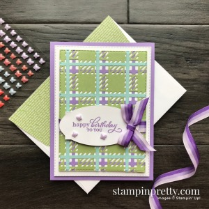 Create this card using the Best Year Bundle from Stampin' Up! Card created by Stesha Bloodhart, Stampin' Hoot!