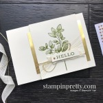 Create this simple notecard using the Forever Fern Stamp Set by Stampin