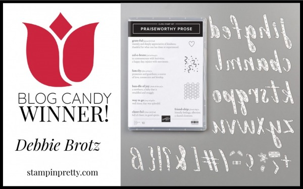 Praiseworthy Prose BUNDLE - BLOG CANDY WINNER
