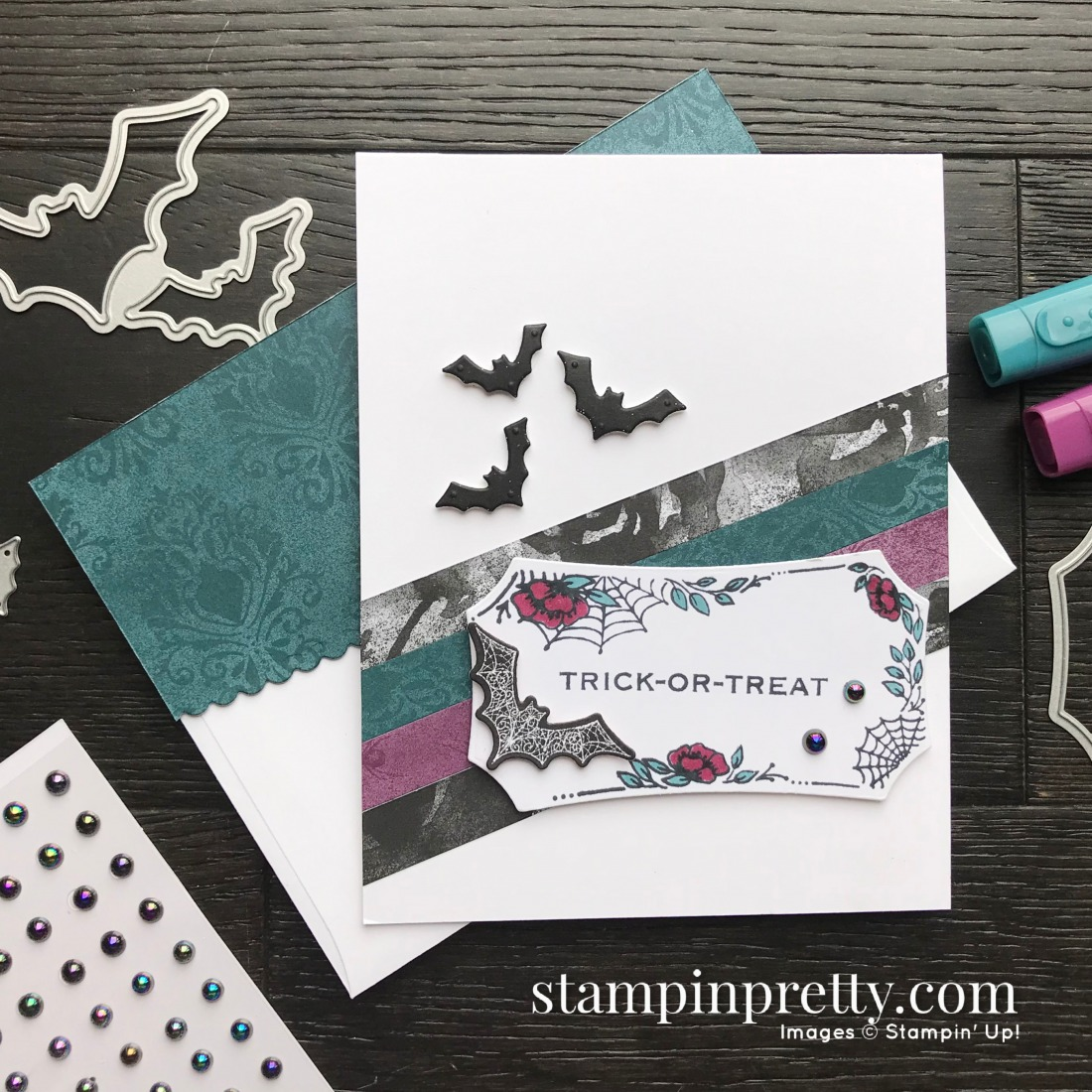 Stampin Up Halloween Card Ideas 2020 SNEAK PEEK! Stampin' Up! Magic In This Night Suite! | Stampin' Pretty