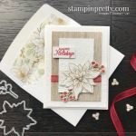 SNEAK PEEK! Poinsettia Place Suite from Stampin