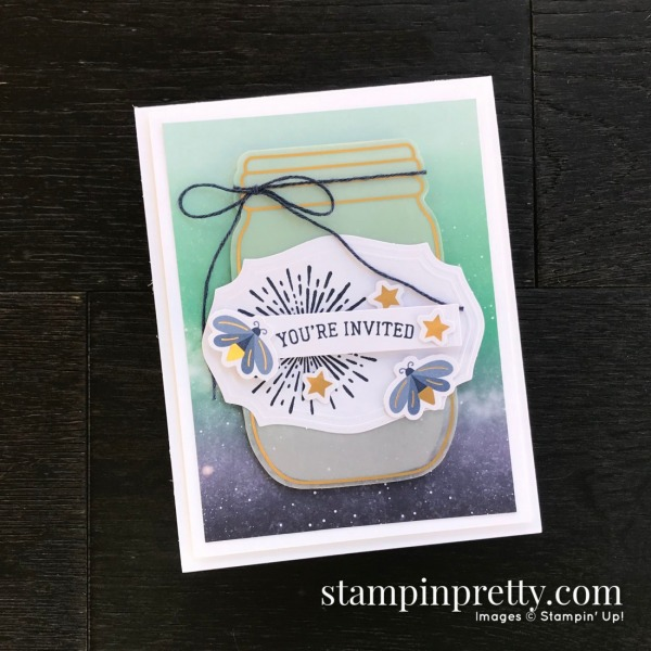 Summer Nights July 2020 Paper Pumpkin Alternate #1 Mary Fish, Stampin' Pretty