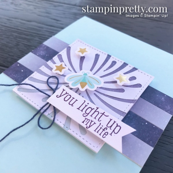 Summer Nights July 2020 Paper Pumpkin Alternate #3 Mary Fish, Stampin' Pretty