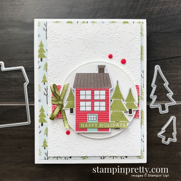 Create This Card with the Trimming the Town Suite of Products from Stampin' Up! Card by Mary Fish, Stampin' Pretty!