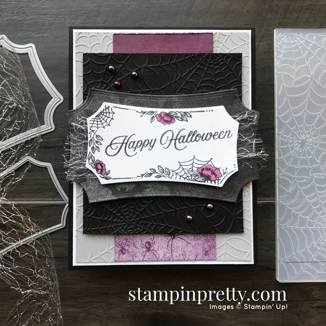 Stampin Up Halloween Card Ideas 2020 Happy Halloween Card: Stampin' Up! Magic In This Night! | Stampin
