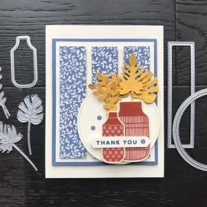 Create this card with the Boho Indigo Product Medley from Stampin' Up! Card by Mary Fish, Stampin' Pretty