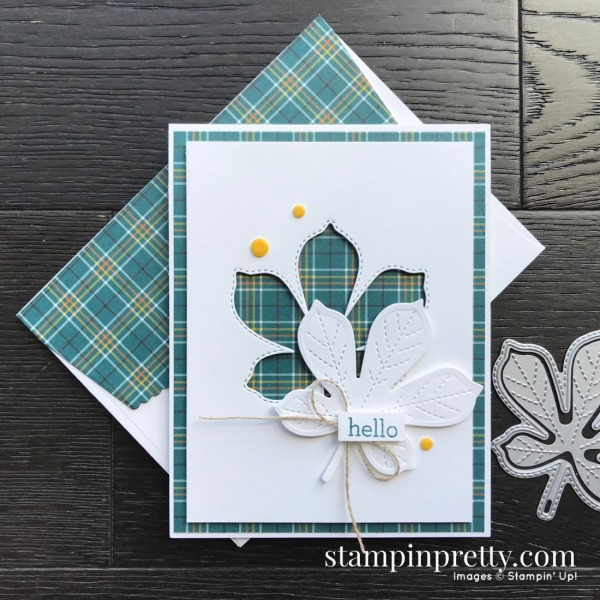 Love of Leaves Bundle from Stampin' Up! Card created by Mary Fish, Stampin' Pretty - Pals Blog Hop