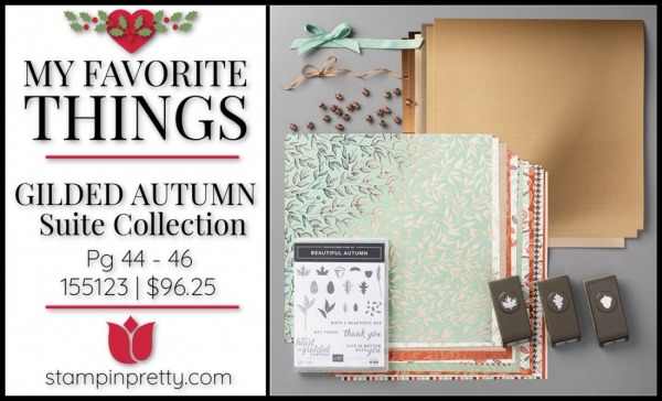 My Favorite Things - Gilded Autumn Suite Collection from Stampin' Up!