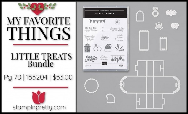 My Favorite Things -Little Treats Bundle From Stampin' Up!