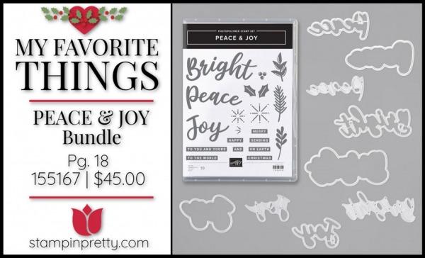 My Favorite Things - Peace & Joy
