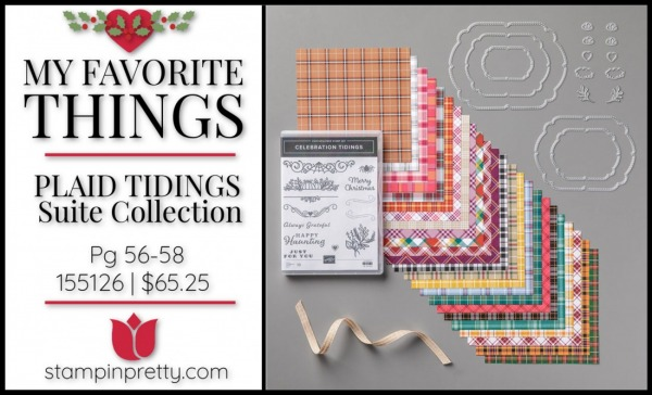 My Favorite Things - Plaid Tidings Suite from Stampin' Up!