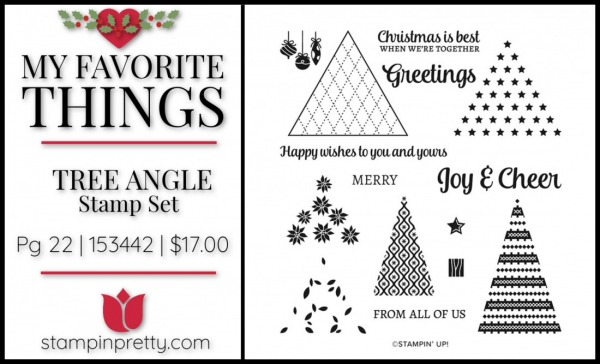 My Favorite Things - Tree Angle Stamp Set from Stampin' Up!
