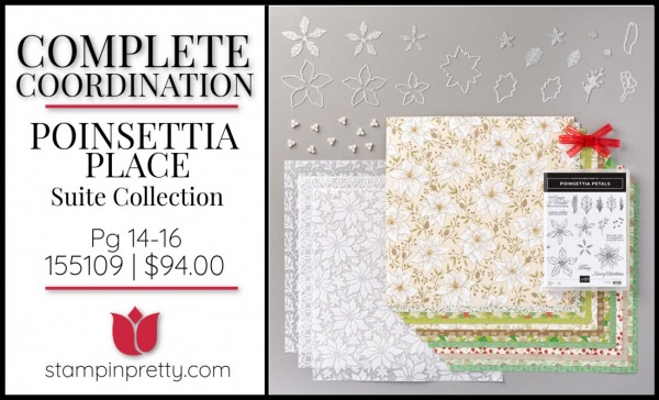 Poinsettia Place Suite Bundle Stampin' Up! 155109 $94.00