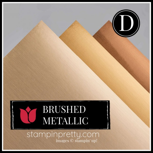 Brushed Metallic Card Stock Item. 153524