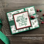Create this card using the Christmas Means More Stamp Set from Stampin