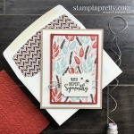 Gilded Autumn Specialty Designer Series Paper from Stampin