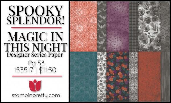 Magic in this Night Designer Series Paper 153517 $11.50