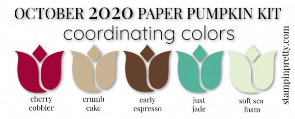 Coordinating Colors - October 2020 Paper Pumpkin