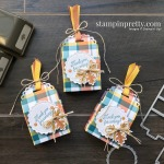 Create these Thanksgiving Favors using the Little Treats Bundle by Stampin