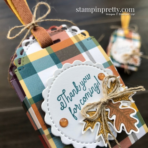 Create these fall party favors with the Little Treat Bundle from Stampin' Up! Mary Fish, Stampin' Pretty