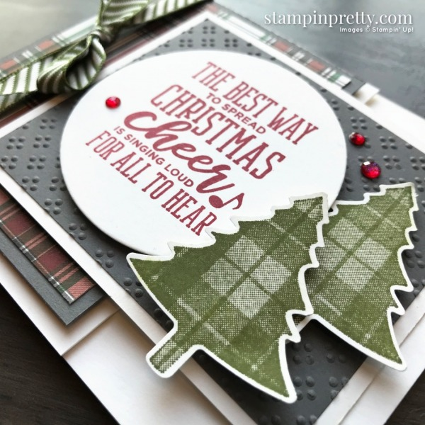 Create this card using the Christmas Means More Stamp Set by Stampin' Up! Card by Mary Fish, Stampin Pretty