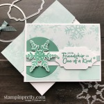 Friendship is One of a Kind with Snowflake Wishes Bundle by Stampin