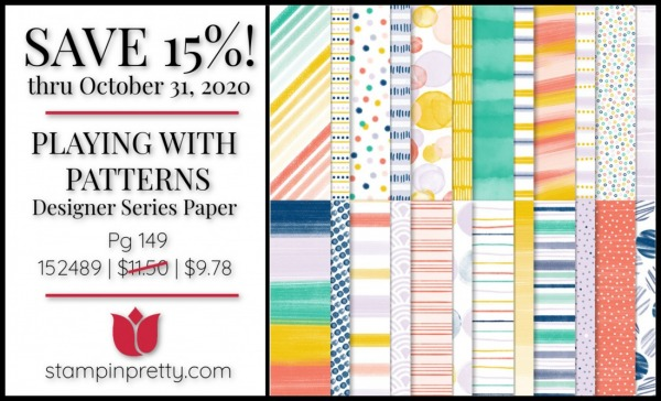 PLAYING WITH PATTERNS DSP 152489 $11.50 On Sale Through October 31