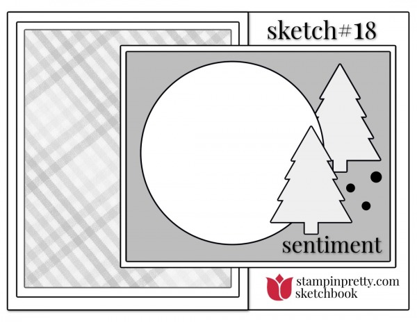 Stampin' Pretty Sketchbook Sketch 18