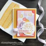 Way to Goat Stamp Set & Playing with Patterns DSP from Stampin