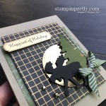 Create this card using Merry Moose Bundle from Stampin