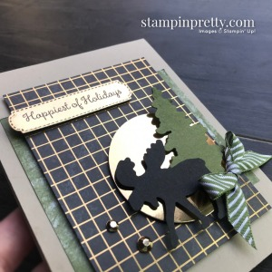 Create this card using Merry Moose Bundle from Stampin' Up! Card by Mary Fish, Stampin' Pretty (1)