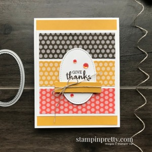 Create this card using the Arrange a Wreath Stamp Set & 6x6 Designer Series Paper from Stampin' Up! Card my Mary Fish, Stampin' Pretty