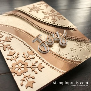 Create this card using the Curvy Dies from Stampin' Up! Card by Mary Fish, Stampin' Pretty