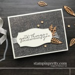 Create this card using the In Good Taste Suite from Stampin