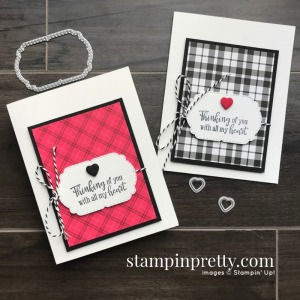 Create this card using the Peaceful Moments Stamp Set and Celebrations Labels from Stampin' Up! Cards by Mary Fish, Stampin' Pretty