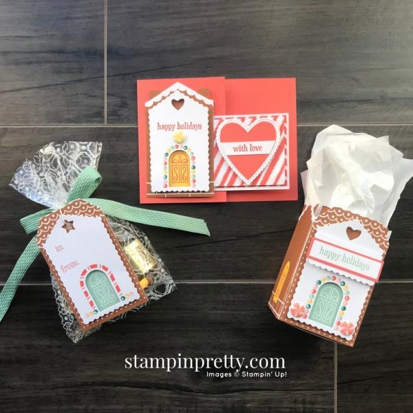Jolly Gingerbread Paper Pumpkin November 2020 Alternates, Mary Fish, Stampin' Pretty