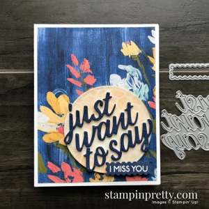 Sneak Peek! Fine Art Floral Suite from Stampin' Up! Card by Mary Fish, Stampin' Pretty
